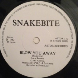 SNAKEBITE - Blow You Away