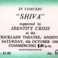 Shiva Ticket