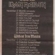 A-II-Z on tour with Iron Maiden
