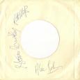 Alec Johnson Band - Busman\'s Holiday signed sleeve