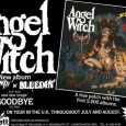 ANGEL WITCH Screamin n Bleeding poster