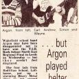 Argon in the press