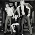 BLAZER BLAZER featuring (clockwise from left Derek O\'Neil, Nicko McBrain, Jeb Million, Steve Barnacle