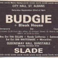 Bleak House + Budgie 1979 ad clip