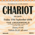 Chariot Live At The Underground 2004