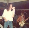 Steve Mills (Trespass) singing with Gaskin supporting Girlschool