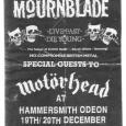 Mournblade Motorhead poster