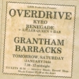 Overdrive ticket