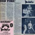 Predatur Reading Chronicle 4th November 1988