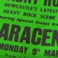 Saracen poster