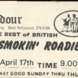 Smokin Roadie Ticket