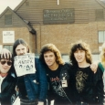 The Lonely Hearts with Motorhead 1985