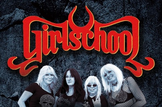 Girlschool 2021 Tour