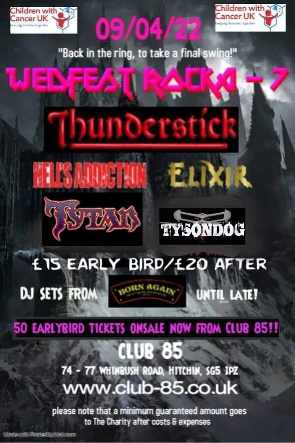Thunderstick + Elixir + Tytan + Tysondog